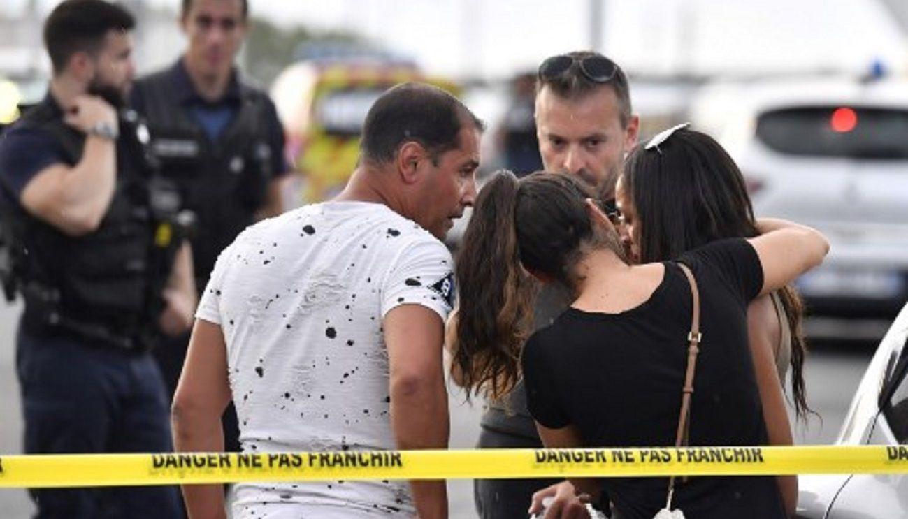 Un muerto y ocho heridos por un ataque con cuchillo en Francia