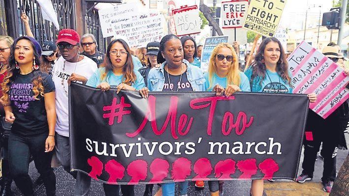 Reclamo. Marchas de mujeres en todo el mundo se sumaron al movimiento #Me Too.