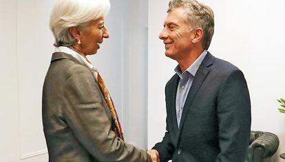 FMI. El acuerdo enmascaró el default al que conducía la política de Macri.