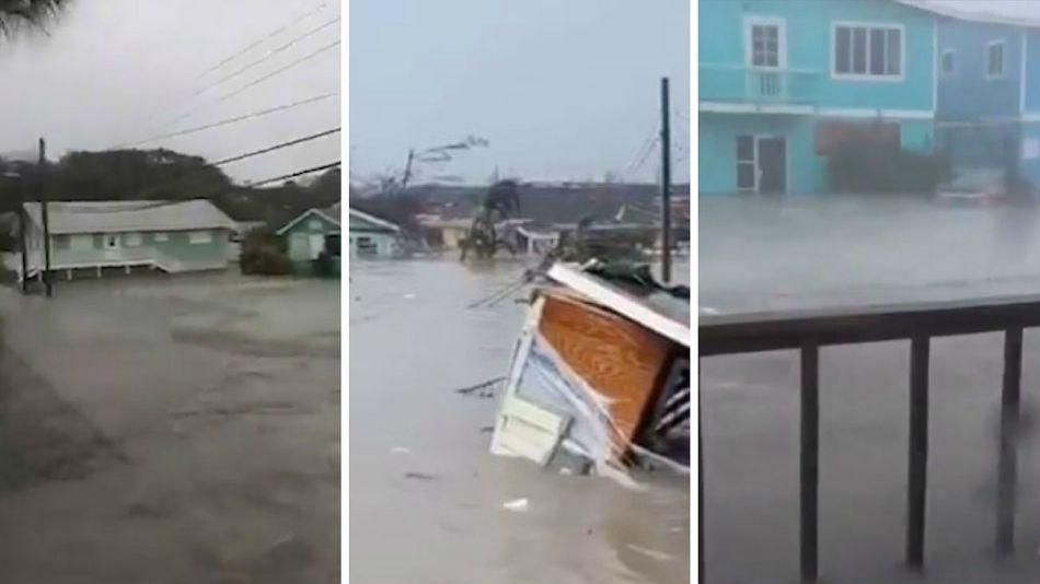 videos huracan dorian bahamas