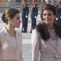 El vestido que Letizia le copió a Juliana Awada