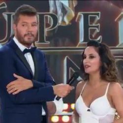 Lourdes Sánchez se enojó con Tinelli por por el gesto de Bianca Iovenitti con Chato Prada