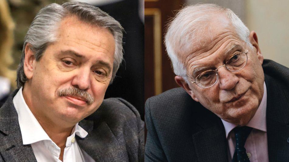 Alberto Fernandez se reunió con el ministro de Asuntos Exteriores español y futuro jefe de la diplomacia europea, Josep Borrell.