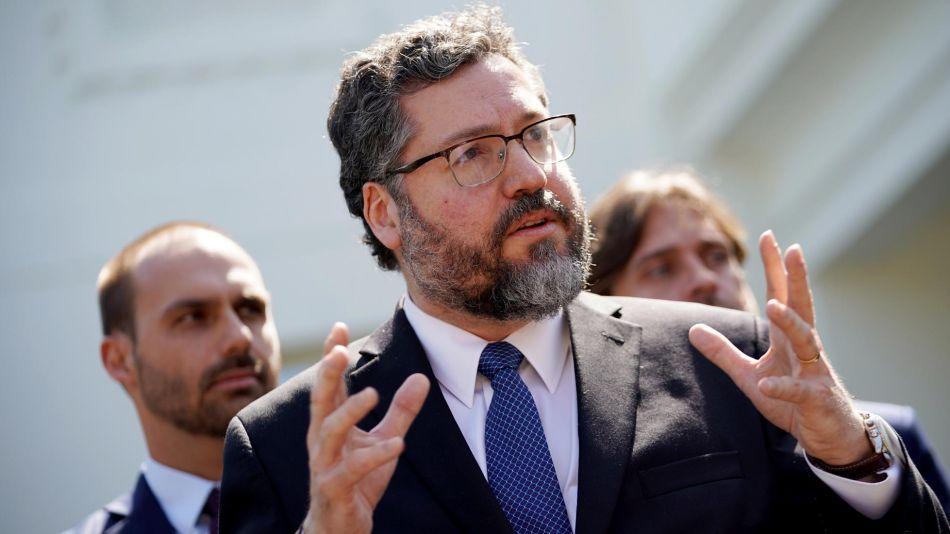 ministro de Relaciones Exteriores del Brasil Ernesto Araujo 20190903