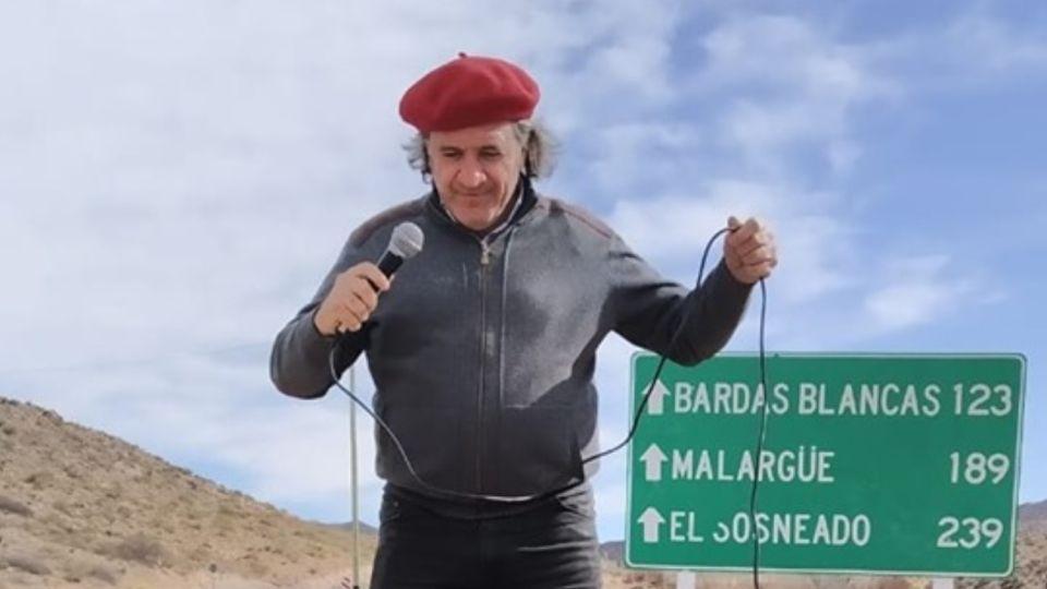El candidato a gobernador de Mendoza por Protectora, José Luis Ramón, protagonizó un desopilante blooper en una feria.