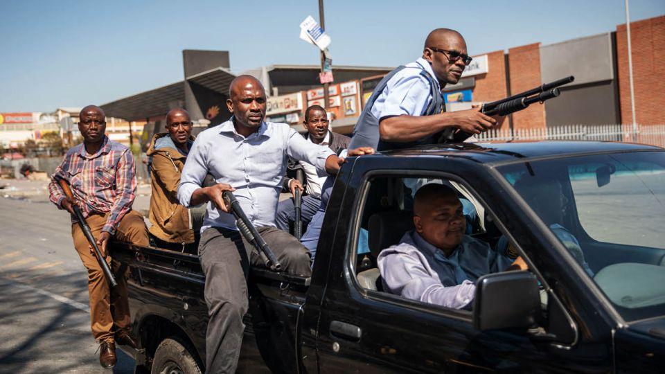 ataques xenófobos en Sudáfrica