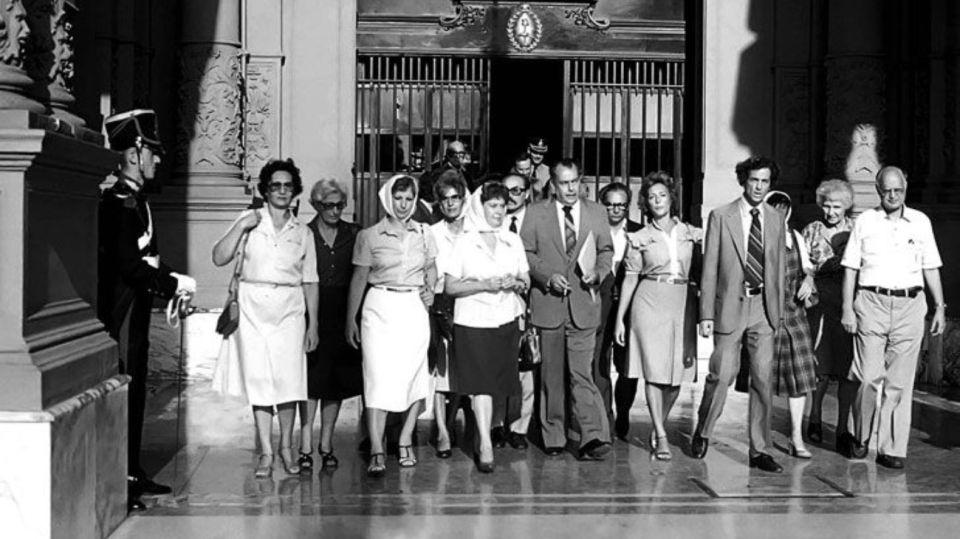 Asociación Abuelas de Plaza de Mayo.