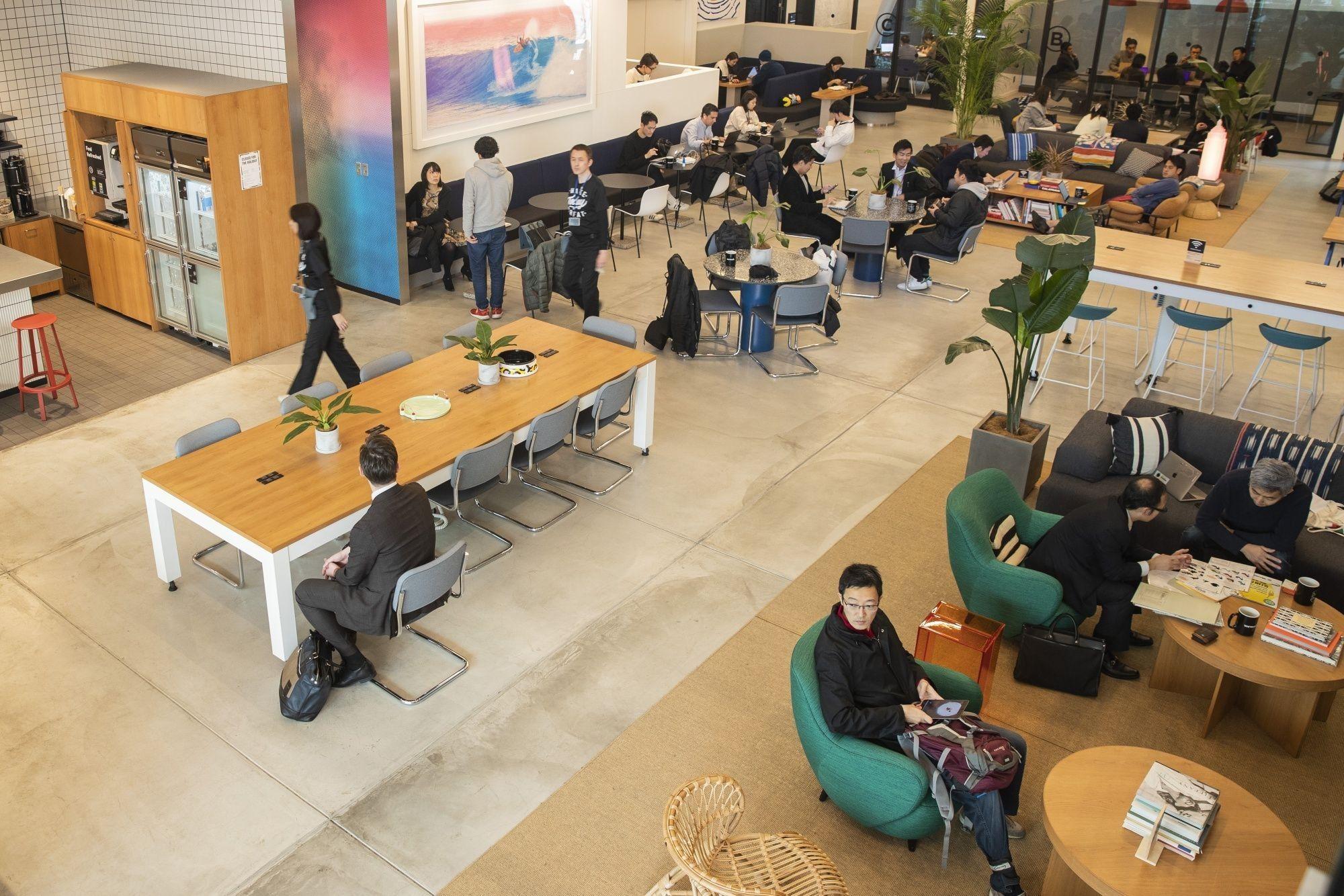 Inside WeWork's Iceberg Co-Working Space in Tokyo