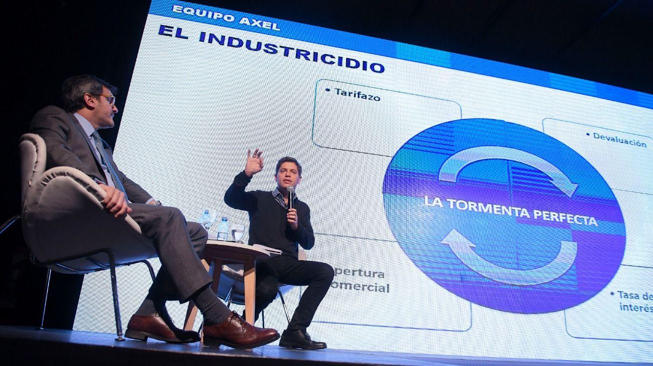 Axel Kicillof en el Congreso Industrial PYME.