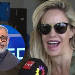 Jorge Rial y Luciana Salazar