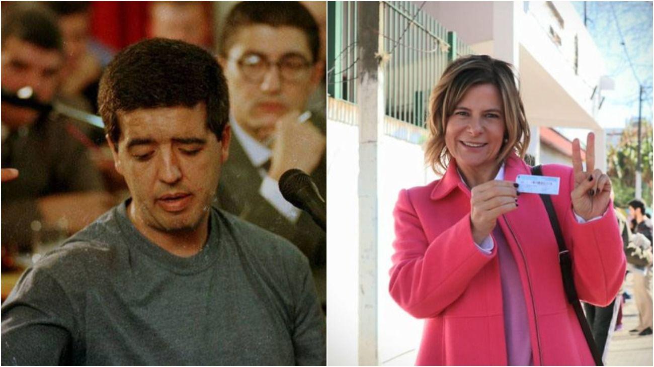 El supuesto vínculo entre el asesino de Cabezas, Horacio Braga, y la candidata platense Florencia Saintout.