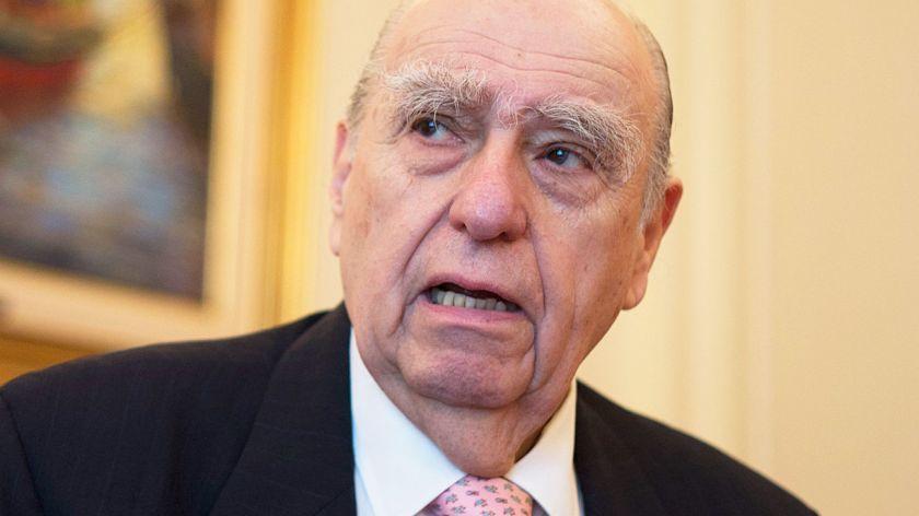 Julio María Sanguinetti, ex presidente de Uruguay.