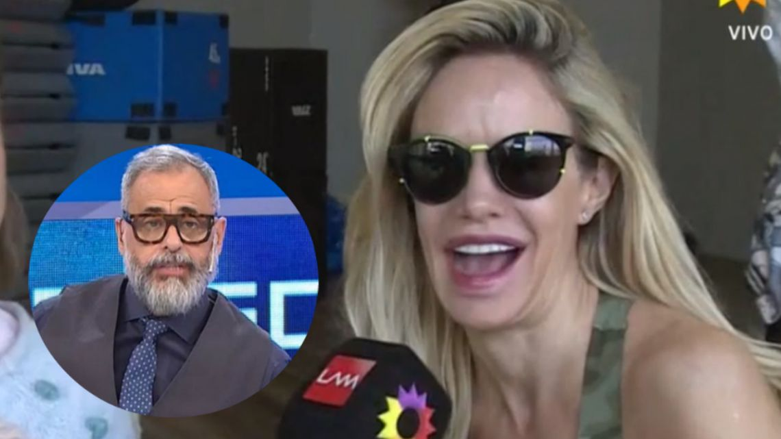 Resultado de imagen para Luciana Salazar habló de los rumores que la vinculan con Jorge Rial