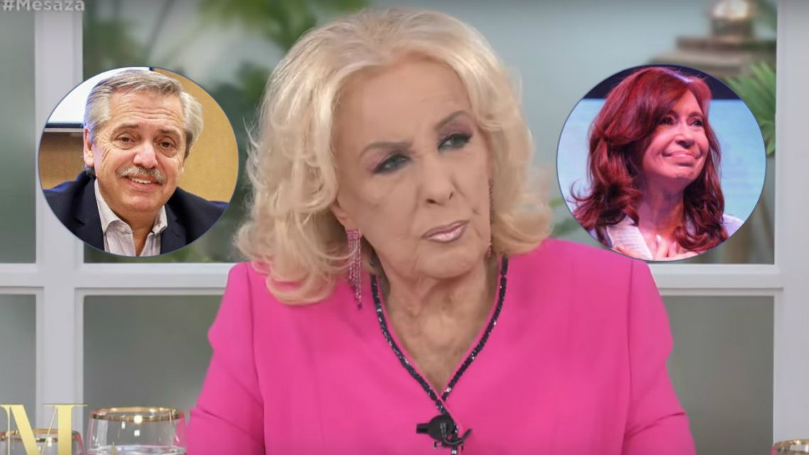 Mirtha Legrand entrevistaría a Alberto Fernández y Cristina Kirchner