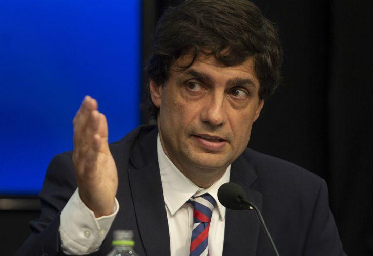 Hernán Lacunza, ministro de Hacienda.