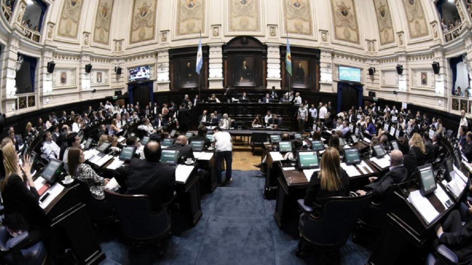 La Legislatura de la provincia de Buenos Aires.