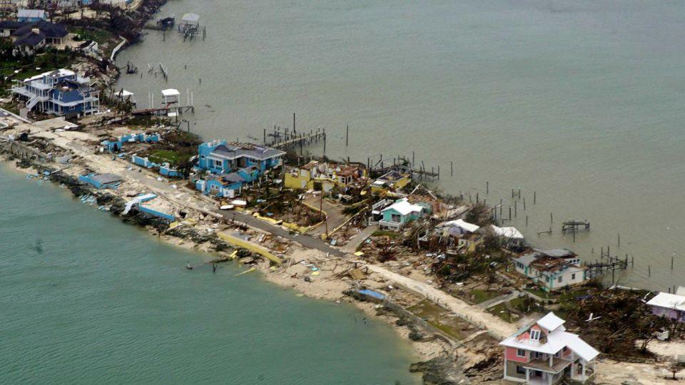 Islas Bahamas tras el huracán Dorian