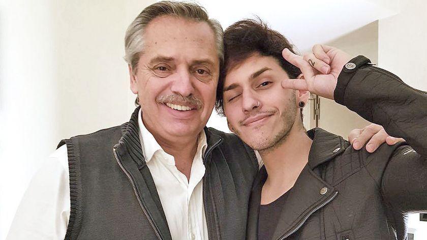 """Estanislao, el hijo de Alberto Fernández: """"No estoy preparado para tener un padre presidente"""""""