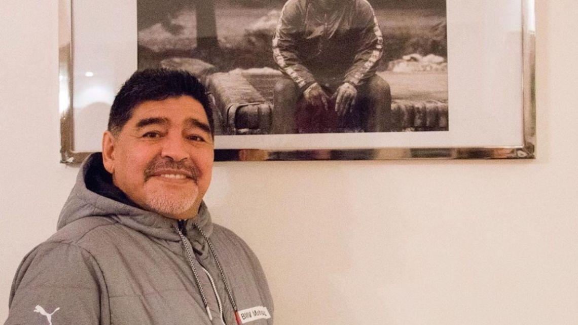 "Maradona le contestó a Gianinna: ""No me estoy muriendo para nada"""