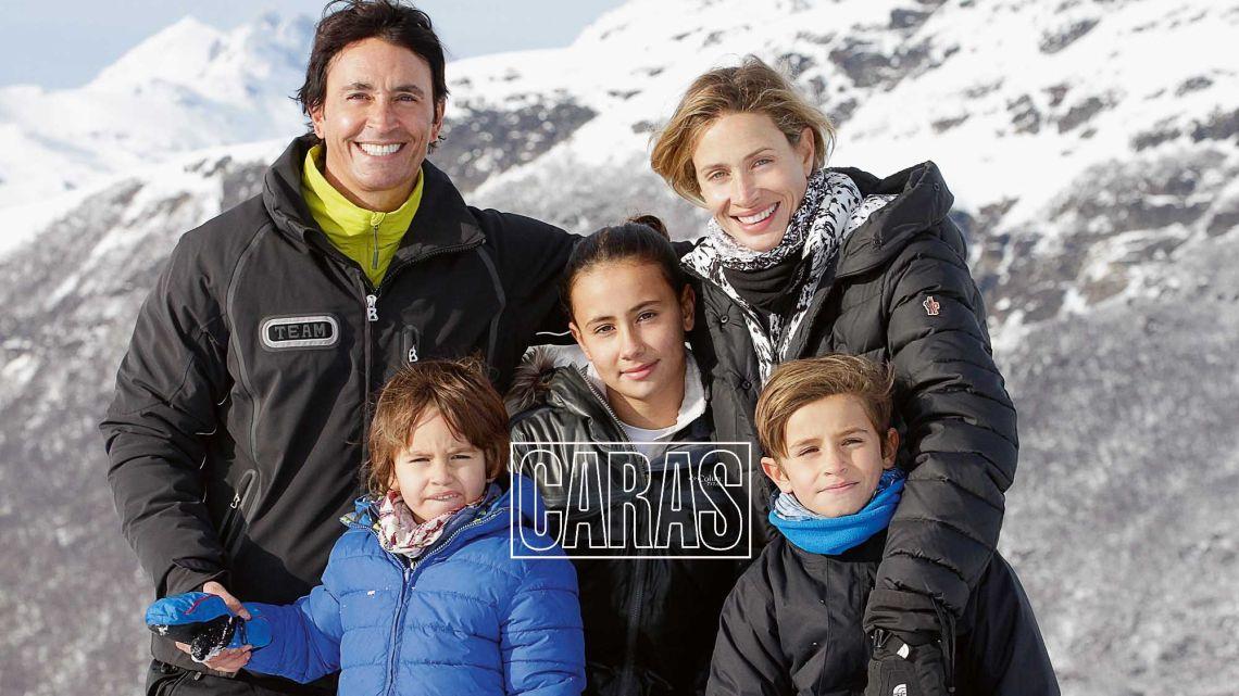 Mirá los hijos de Sebastián Estevanez e Ivana Saccani cómo crecieron