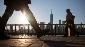 Views Of Manhattan As U.S. Stocks Advance