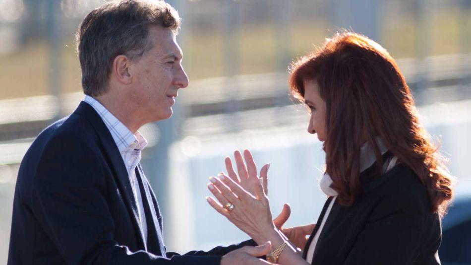 Cristina Kirchner Mauricio Macri