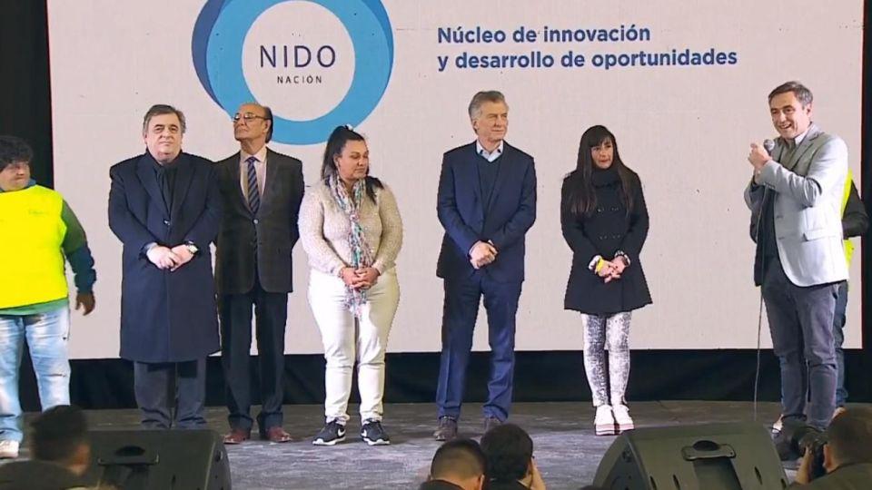 El presidente Mauricio Macri en Córdoba.