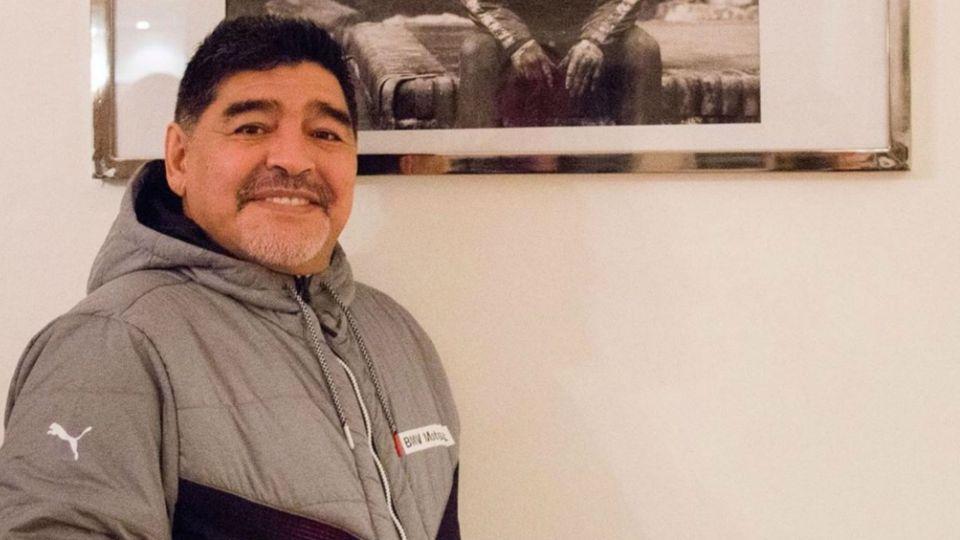 Ya convertido en técnico de Gimnasia, Maradona dijo a quien le dedicará el primer triunfo