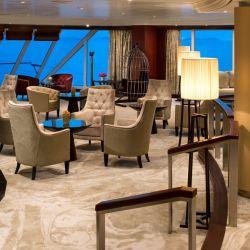 The Living Room, el espacio para el relax y la contemplación de los barcos Azamara.