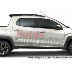 Así es la nueva Fiat Strada (Fuente: Autos Segredos, Brasil)