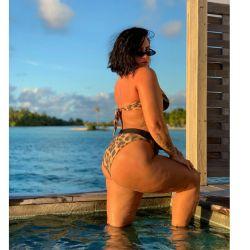 Demi Lovato mostró su cola y derribó sus prejuicios con la celulitis