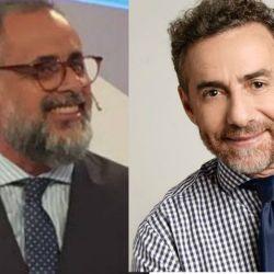 Jorge Rial y Luis Majul