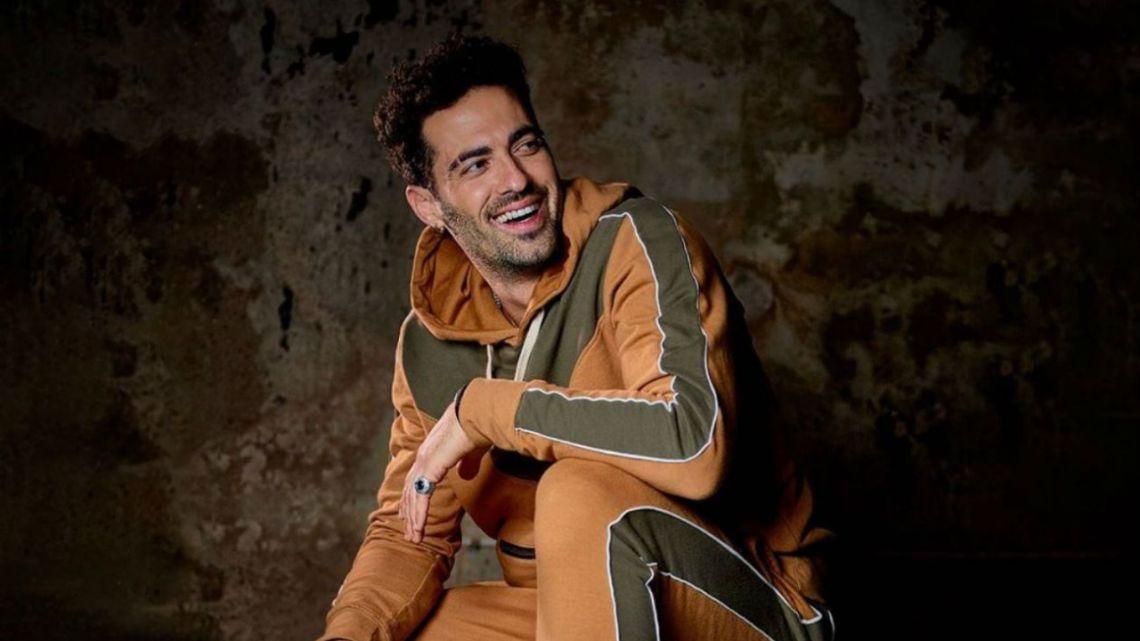 Mauro Caiazza, el ex de Jimena Barón se mostró en Instagram
