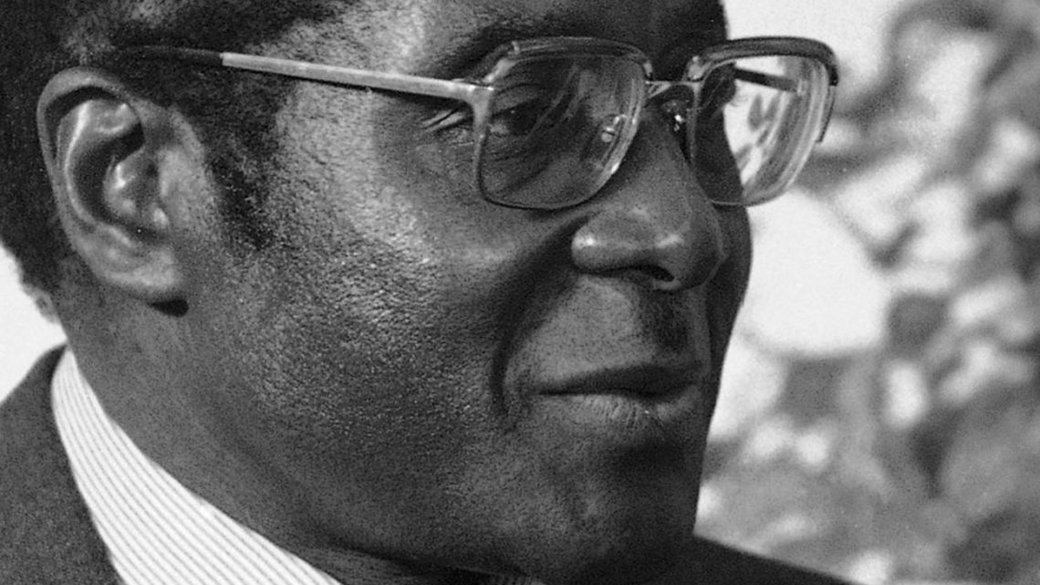 In this August 1980 file photo, Zimbabwe's then-Prime Minister Robert Mugabe visits the United States.