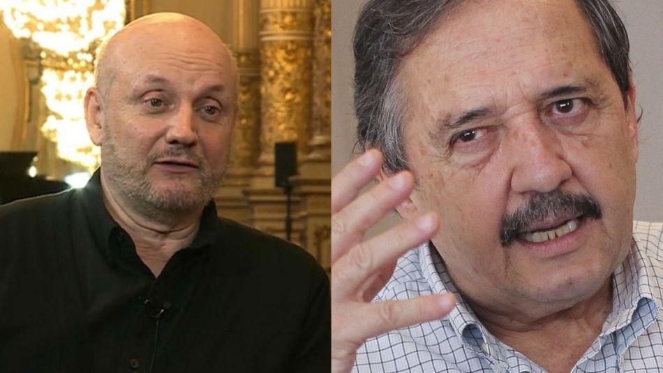 Juan José Campanella y Ricardo Alfonsín
