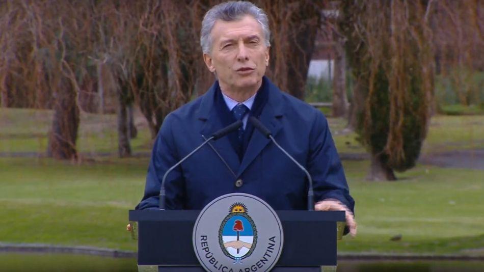 Macri recibió a la comitiva de la CIDH en Olivos.
