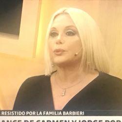 Carmen Barbieri contó cómo fue su primera cita en un hotel alojamiento con Porcel