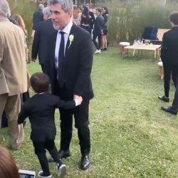 "La soñada boda de Florencia, la hija del ""Chato"" Prada"