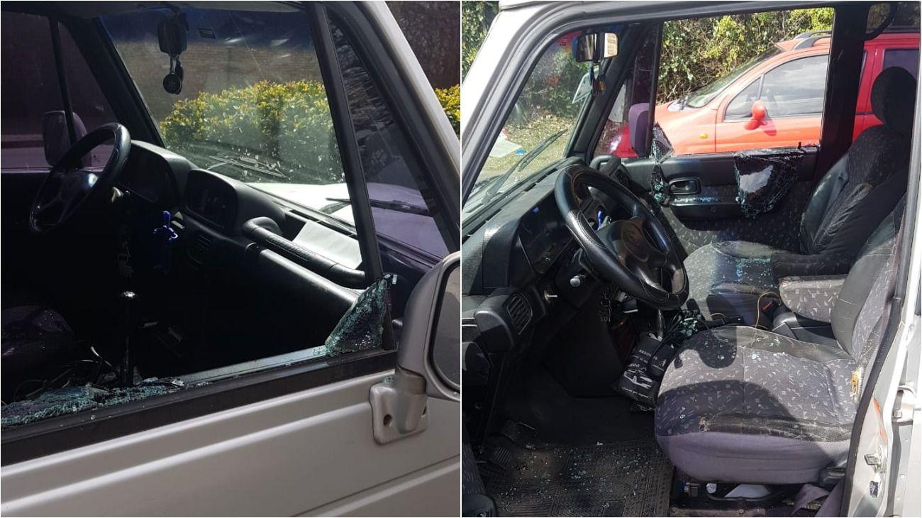 Otra moto y un auto de apoyo participaron del robo al abogado de Juan Ramos Padilla