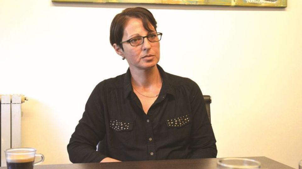 PROTAGONISTA. Norma Titti, la hija reconocida de Pedro fue quien presentó la demanda en los tribunales de Familia.