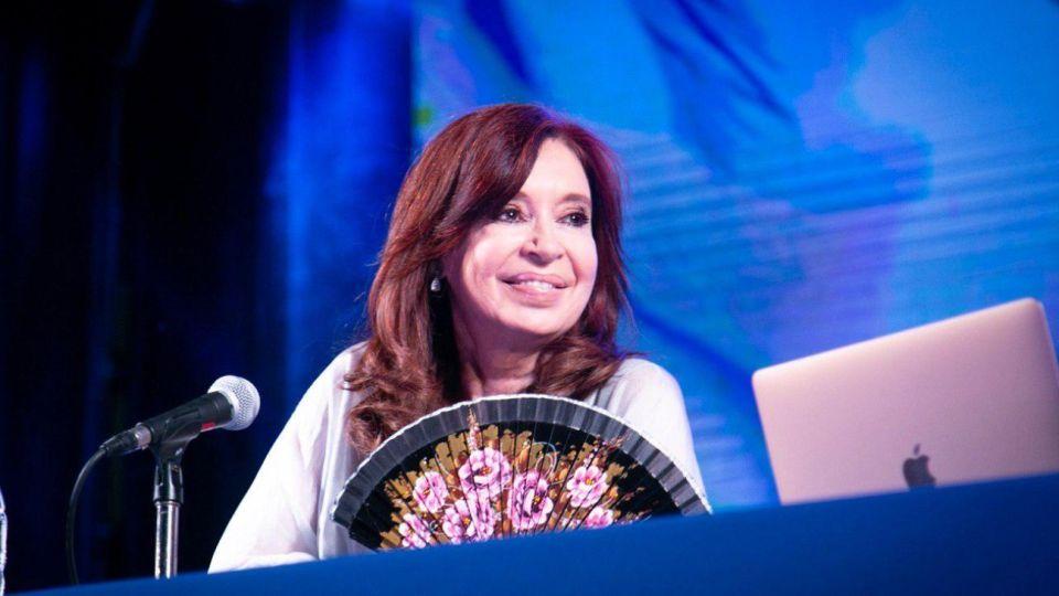Cristina Kirchner presentó su libro 'Sinceramente' en Posadas.
