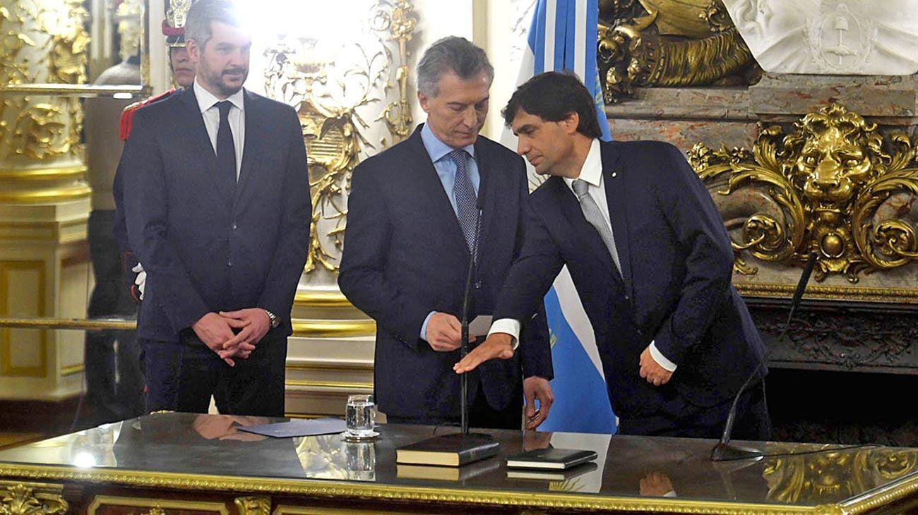 Ministro. Desde que asumió, Lacunza evitó el seguimiento peñista.