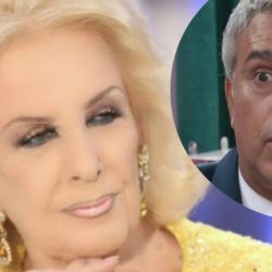 Mirtha Legrand y Mario Massaccesi