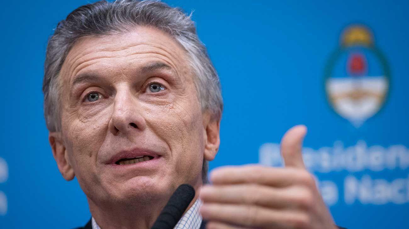 """Macri y una carta para la clase media: """"Es la que siempre pone el hombro"""""""