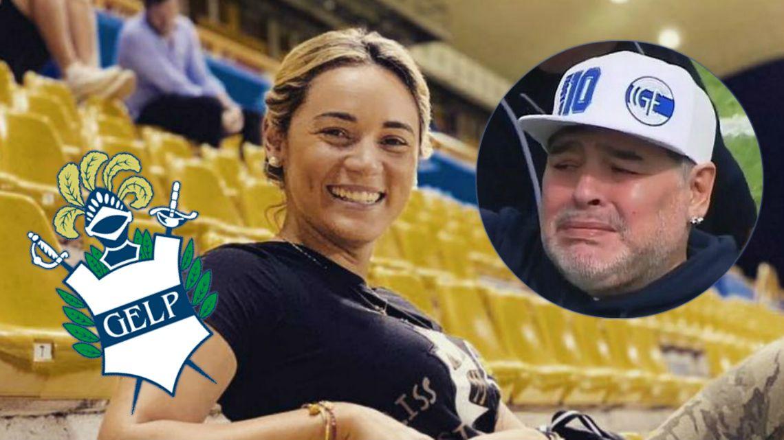 Rocío Oliva hizo un importante anuncio en la presentación de Maradona
