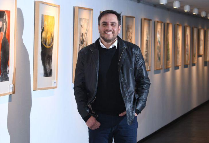 Juan Cabandié, en el reportaje de Jorge Fontevecchia.