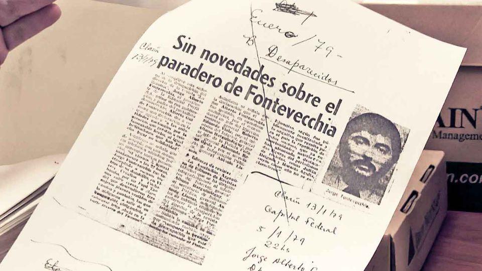 En enero. Meses antes de la visita fue secuestrado Jorge Fontevecchia, uno de los fundadores de Editorial Perfil. Habla en el filme.