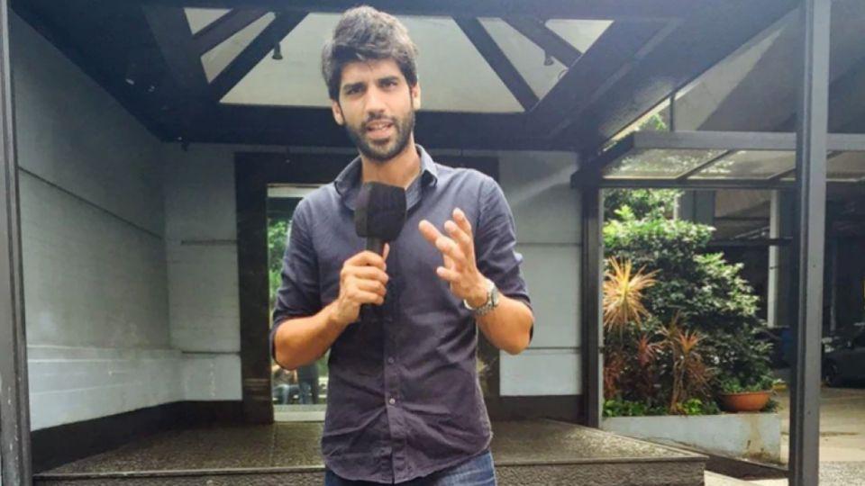 Eugenio Veppo, productor televisivo y cronista.