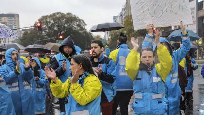 protesta agentes de transito 9_9_2019