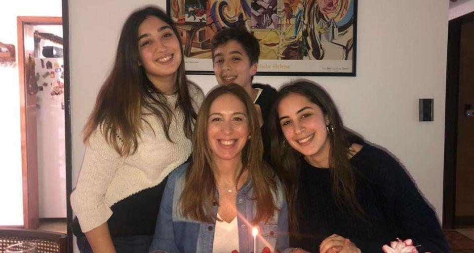 Toda la intimidad emotivo y multitudinario cumpleaños de Maria Eugenia Vidal